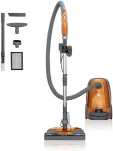 Kenmore 81214 200 Series Pet Friendly Lightweight Bagged Canister Vacuum Cleaner